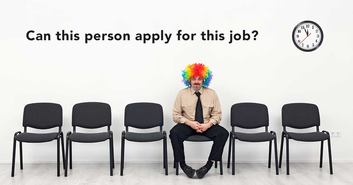Can This Person Apply For This Job Njoyn